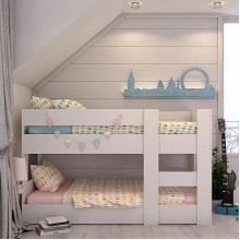 Bunk Bed Compact Mini Low Height - Innovative Design!